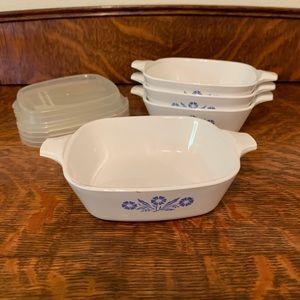 Vintage Corning Ware Petit Pans/casseroles.